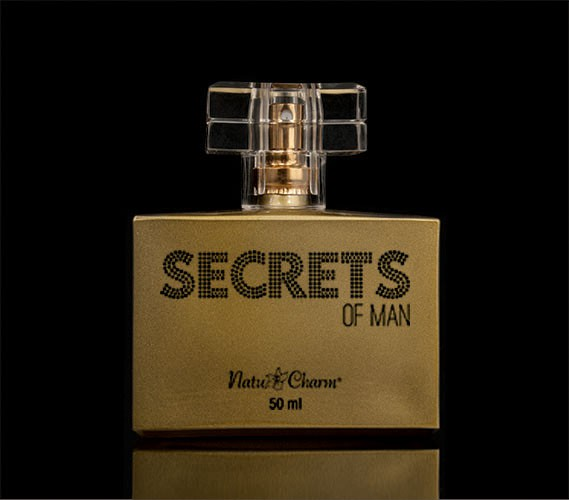 Deo Colônia Secrets of Man - 50ml - Natu Charm Cosméticos