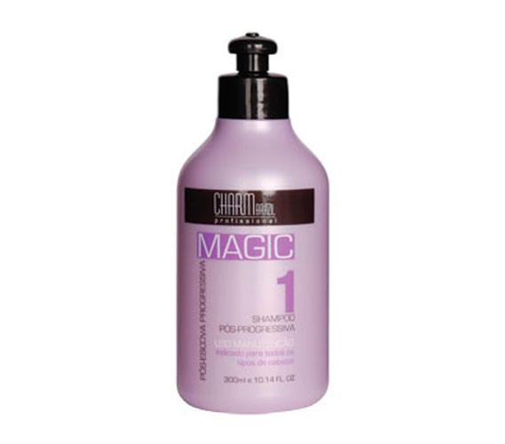 Shampoo Pós Progressiva Magic - 300ml - Natu Charm Cosméticos