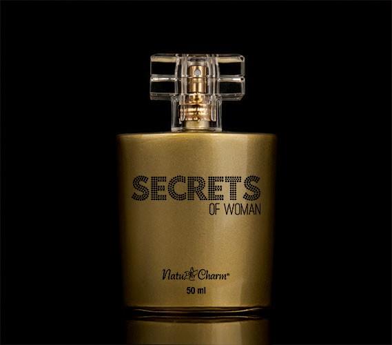 Deo Colônia Secrets of Woman - 50ml - Natu Charm Cosméticos