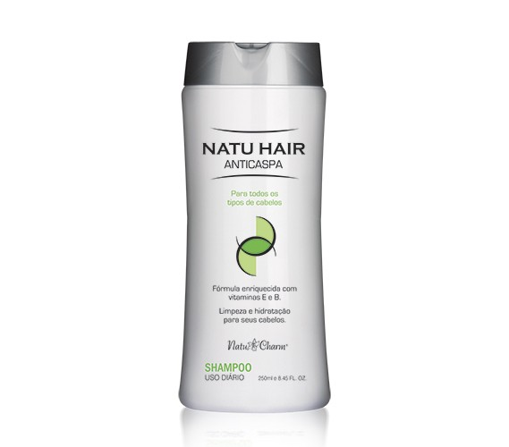 Shampoo Anticaspa Natu Hair - 250ml